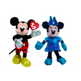 Pelucia Mickey e Minnie-DTC
